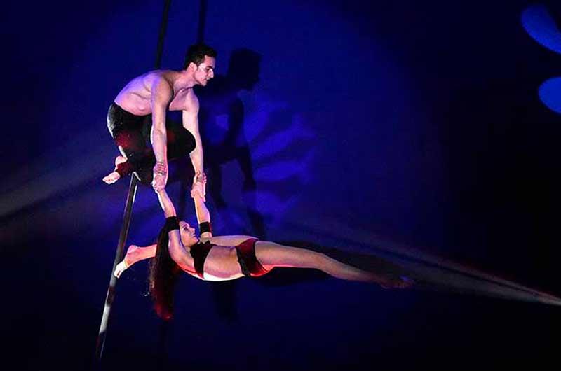 Einmalige Zirkus Show deutschland